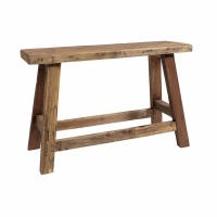 Farm bench Recycled wood Naturel